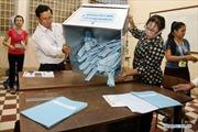 Campuchia công bố việc đăng ký cử tri trên hệ thống máy tính