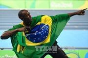 "Usain Bolt hoàn tất ""hat-trick"""