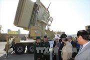 Iran khoe hệ thống phòng thủ tên lửa tự chế tạo