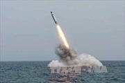 Triều Tiên bất ngờ phóng tên lửa đạn đạo từ tàu ngầm