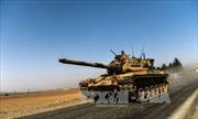 Xe tăng Thổ Nhĩ Kỳ tràn sang Syria đánh IS