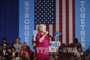 Số cử tri ủng hộ bà Hillary vượt ngưỡng 50%