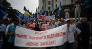 Phe đối lập Ukraine đề nghị giải tán quốc hội