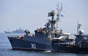 Hạm đội Thái Bình Dương Nga tập trận trên biển Okhotsk