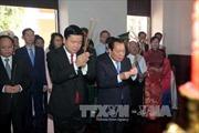 Lãnh đạo TP HCM dâng hương Bác Hồ, Bác Tôn