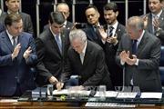 Biểu tình phản đối tân Tổng thống Brazil