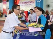 Chủ tịch Quốc hội dự khai giảng trường chuyên Lê Quý Đôn