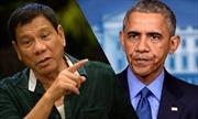 Tổng thống Philippines văng lời thóa mạ, ông Obama hủy gặp