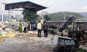 Chôn lấp 30 tấn chất thải trái phép tại Quảng Nam