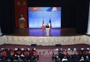 """Tổng thống Hollande nói về """"tương lai chung của Pháp-Việt Nam"""""""