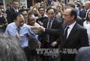 Báo chí Pháp đưa  đậm nét chuyến thăm của Tổng thống Hollande tới Việt Nam