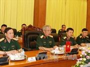 Đẩy mạnh quan hệ hợp tác quốc phòng Việt Nam - Anh