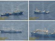Philippines công bố ảnh tàu Trung Quốc ở bãi Scarborough