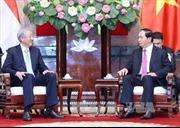 Chủ tịch nước tiếp Phó Thủ tướng Singapore Tiêu Chí Hiền