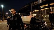 Đấu súng bên ngoài đấu trường bắn cung Paralympic Rio