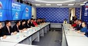 Trưởng Ban Dân vận Trung ương Trương Thị Mai làm việc tại Nga