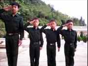 Những chiến sỹ nhí ở Đồn Biên phòng Si Ma Cai