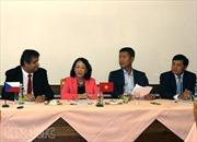 Trưởng Ban Dân vận TW Trương Thị Mai thăm CH Séc