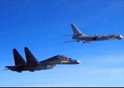 """Hàng chục chiến đấu cơ Trung Quốc và Mỹ """"chạm trán nguy hiểm"""""""