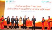 Tập đoàn Tân Á Đại Thành đón nhận Cờ thi đua của Chính phủ