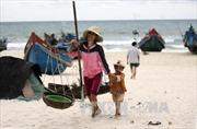 Ngư dân ven biển miền Trung vất vả mưu sinh