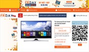 Online Friday Hot Deal - Điểm mới trong ngày Mua sắm trực tuyến