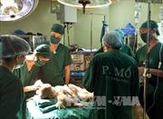 Phẫu thuật thành công bệnh nhi dị dạng sọ mặt hiếm gặp