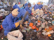 Xử lý tình trạng nhiễm độc chì tại Hưng Yên