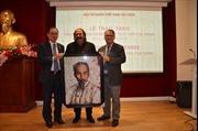 Nghệ sĩ Algeria sáng tác tranh chân dung Chủ tịch Hồ Chí Minh