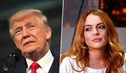 """Ông Trump nhận xét gì về """"nữ hoàng tiệc tùng"""" Lindsay Lohan?"""