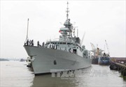 Tàu Hải quân Canada thăm Thành phố Hồ Chí Minh
