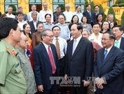 Chủ tịch nước gặp mặt đại biểu cựu sĩ quan an ninh miền Nam