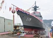 Nhật Bản hạ thủy tàu khu trục mới