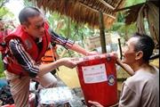 Chung sức khắc phục hậu quả lũ lụt