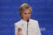 Bầu cử Tổng thống Mỹ: Bà Clinton dần bỏ xa ông Trump