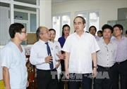 Đồng chí Nguyễn Thiện Nhân làm việc với Bộ Y tế
