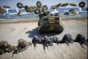 Hàn – Mỹ tập trận đổ bộ đối phó Triều Tiên khiêu khích từ biển
