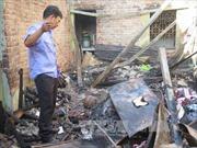Kịp thời dập tắt đám cháy nhà dân tại Hải Dương