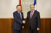 Bộ trưởng Công an Tô Lâm thăm và làm việc tại Israel