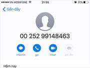 Thuê bao MobiFone nghe cuộc gọi đến từ Somali sẽ không phải trả tiền