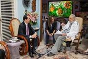 Chủ tịch nước hội kiến Lãnh tụ Fidel Castro