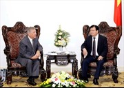 Phó Thủ tướng Trịnh Đình Dũng tiếp Cao ủy về Môi trường của EU