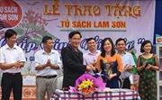 Tủ sách Lam Sơn mang tri thức về lớp học nông thôn