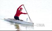 Hà Nội dẫn đầu giải Đua thuyền Rowing và Canoeing