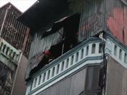 Cháy lớn trên phố Trần Khát Chân, Hà Nội