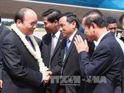 Thủ tướng tới Campuchia dự Hội nghị CLV 9