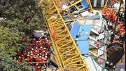 Số người chết trong vụ sập công trình xây dựng Trung Quốc tăng cao