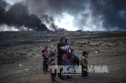 IS dùng máy bay không người lái tấn công quân đội ở Mosul