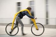 Ngạc nhiên với xe đạp không pedal cũng chẳng có yên