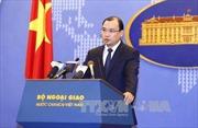 Phản đối việc Đài Loan diễn tập trên biển thuộc quần đảo Trường Sa